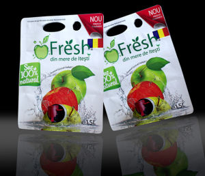 Plastic Fruit Juice Packaging Pouch with Valve pictures & photos