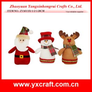 Christmas Decoration (ZY16Y151-1-2-3 20CM) Wholesale Christmas Houses Decoration pictures & photos