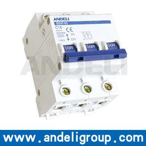 Miniature Circuit Breaker 63AMP MCB (DZ47-63) pictures & photos