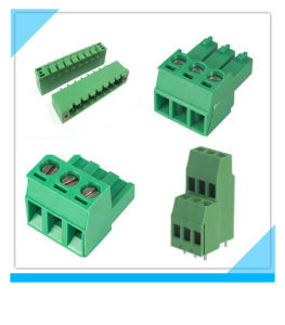 China Leading PCB Mount Electric Terminal Block pictures & photos