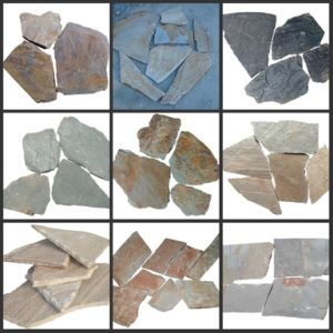 Hot Sell Slate Irregular Flagstone for Flooring (SSS-84) pictures & photos
