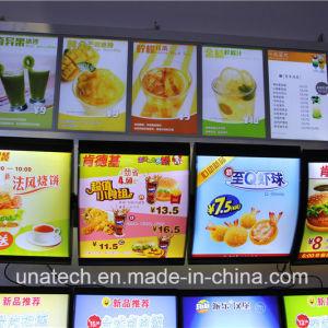 Aluminum Snap Frame Fast Food Restaurant Kfc Mcdonald′s Menu Board LED Signboard Light Box pictures & photos