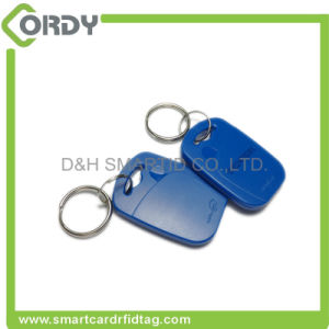 high quality em4305 RFID keyfob keychain key tag for attendence pictures & photos