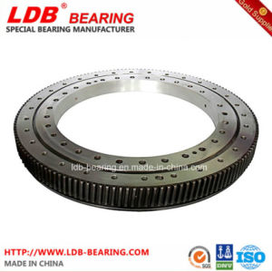 Single-Row Four Point Contact Slewing Ball Bearing with Internal Gear 9I-1b45-1187-0352 pictures & photos