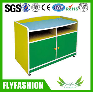 Wooden Kids Storage Cabinet Design for Daycare Furniture (SF-110C) pictures & photos