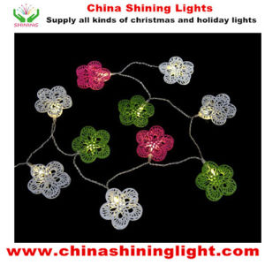Metal Decor Flower Design LED Garden Lights pictures & photos