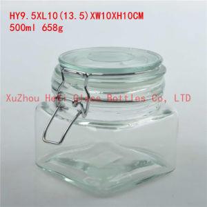 Seal Glass Jar Glass Coffee Jar Candy Glass Jar 700ml