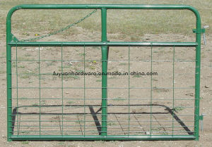 Cattle Yard Wire Mesh and Tube Frame Farm Gate pictures & photos