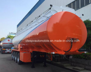 4 Axles Customized 60000 L Fuel Tanker Semi Trailer Price pictures & photos