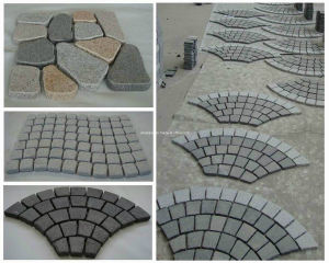 Granite Paving Stone, Stairs, Cobble Stone, Kerbstone, Cubestone pictures & photos