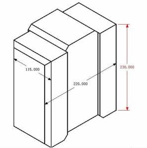 Hr1-20 Cement Clay Interlocking Bricks Moulds pictures & photos