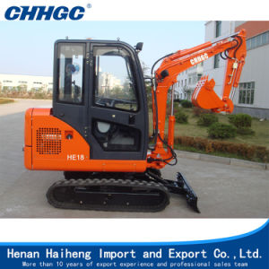 High Quality Yanmar Diesel Korea Hydraulic System Mini Excavator pictures & photos