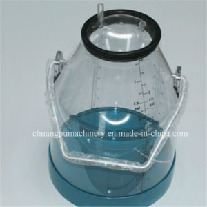 Milk Sucking Machine Buckets with Scale Plastic Material pictures & photos