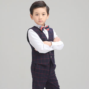 2017 Summer Autumn Fashion Wholesale Baby Boys Formal Waistcoat pictures & photos
