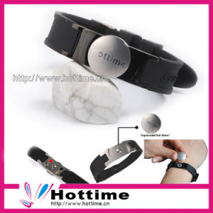 2013 Health Silicone Bracelets for Hottime Jewelry pictures & photos