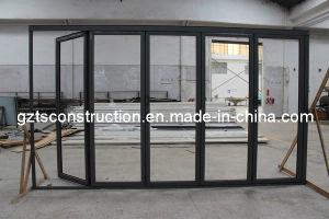 Five Panels Aluminium Folding Door pictures & photos