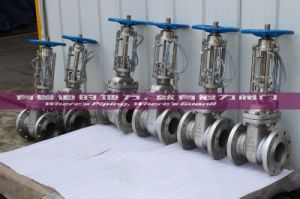 Wcb Stainless Steel API Gate Valve with Signal pictures & photos