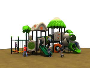New Style Children Playground Equipment-014001 pictures & photos