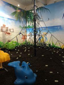 Children Wonderful Castle Plastic Outdoor Playground (12097A) pictures & photos