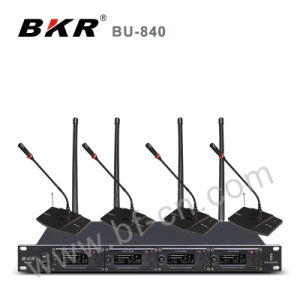 Four Channel High Quality Conference System Bu-840