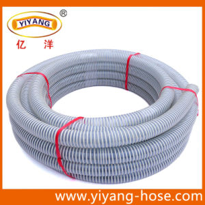 Rigid PVC Reinforced Suction Hose (Cold And Hot Resistance) pictures & photos