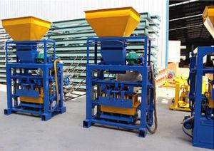 Small Type Complete Block Production Line Qtj40-1 Concrete Block Making Machine pictures & photos