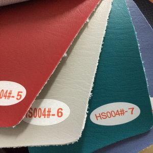Abrasion Resistance Microfiber PU Leather (HS004#) pictures & photos