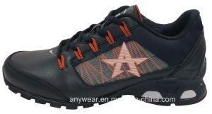 Men′s Leather Sports Shoes Racing Footwear (M-16629-9) pictures & photos