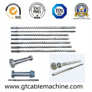 Wire Cable Extruder Host Special Metal Injection Screw Barrel pictures & photos