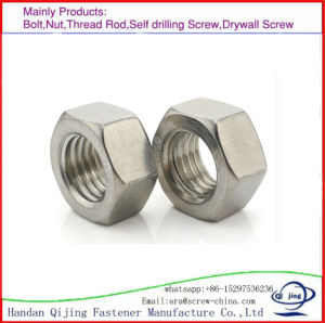 Hex Nut, Stainless Steel Nuts. pictures & photos