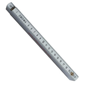 Light Weight Plastic Folding Carpenter Ruler pictures & photos