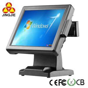 Jj-8000A Touch Screen POS System with Magnetic Card Reader and VFD Customer Display