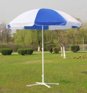 Custom Aluminium Pole Promotional Beach Umbrella Garden Umbrella pictures & photos