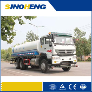 Sinotruk 6X4 HOWO15000L Water Tank Truck with Sprinkling pictures & photos