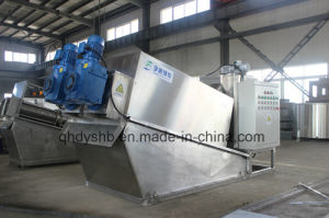 Volute Sludge Dewatering Screw Press with Non Clog Design pictures & photos