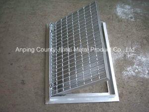 Steel Grating Panel/Serrated Type