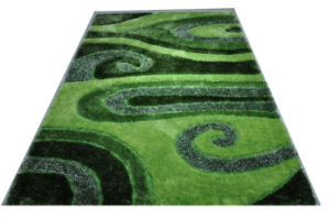 100% Polyeter Super Soft Silk Carpet Textile Customized