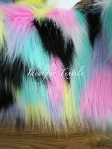 High Quality Multicolor Jacquard Fur pictures & photos