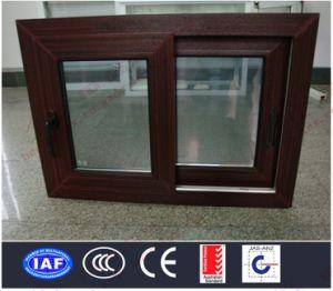 Superior Quality Woodgrain PVC Sliding Window (BHP-SW13) pictures & photos