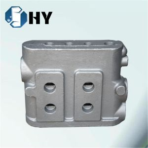 Metal Casting Ring Burner Wrought Iron Garbage Can Valve Casting pictures & photos
