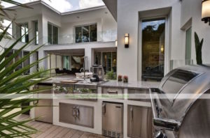 304 Stainless Steel Outdoor Kitchen with BBQ (WH-D997)