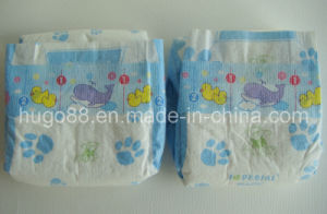 A Grade Baby Diapers with Magic Tapes pictures & photos