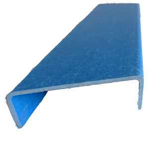 Fiberglass Reinfored Plastic Profile- Blue FRP Pultruded Channel pictures & photos