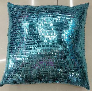 Sequin Embroidery Cushion Fashion Decorative Pillow (XPL-10) pictures & photos