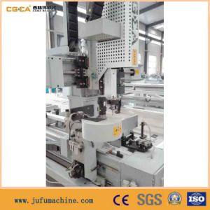 CNC PVC Sluminum Window Door Frame Cutting Machine pictures & photos
