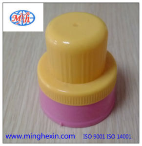 Yellow Laundry Detergent Cap with ISO SGS pictures & photos