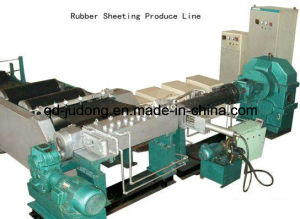 Wide Rubber Sheet Extruding Production Line pictures & photos