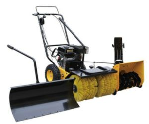 5.5HP Loncine Power Gasoline Snow Sweeper with CE (SSG5562) pictures & photos