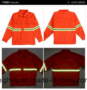 High Visibility Reflective Jacket for Workers (C2404) pictures & photos