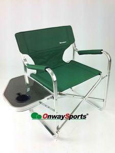Ultra-Portable Camping Diretor Chair with Table